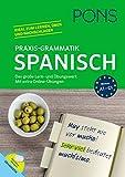 PONS Praxis-Grammatik Spanisch: Das große Lern- und Übungswerk. Mit extra Online-Übungen.