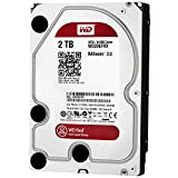 WD Red 2TB interne Festplatte,5400 RPM Class SATA 6 Gb/s 64MB Cache 3.5 Inch