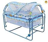 #10: BAYBEE Baby Cocoon Swing Cradle (Blue)