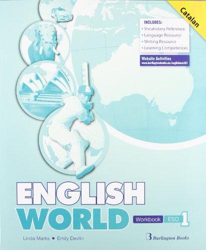 English world workbook catalan 1º eso