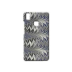 BLUEDIO Designer Printed Back case cover for VIVO V3 - G6626