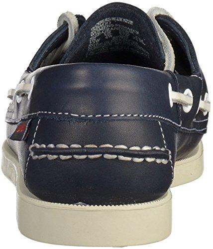 Sebago Docksides, Chaussures bateau femme Sombre