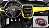 Rot Aufkleber 3m Stickers geharzt Effekt 3d Logo Badge Emblem für Lenkrad Auto