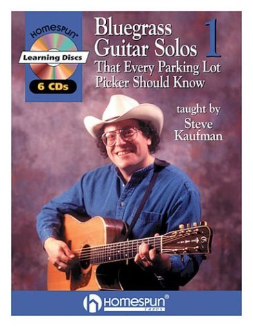Bluegrass Guitar Solos That Every Parking Lot Picker Should Know (Series 1) 6 CD [With 6 CDs] (Homespun Learning Discs) - Co Disc
