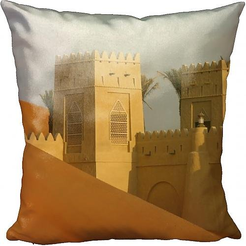 Cushion of Qasr Al Sarab Desert Resort by Anantara, Abu Dhabi, United Arab Emirates