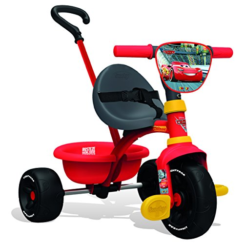Smoby - 740310 - Cars 3 - Tricycle Be Fun Evolutif