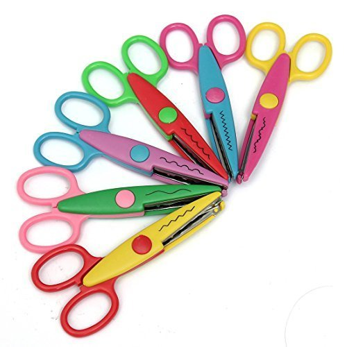6 colors - Pinking Shears 240mm Professional Dressmaking