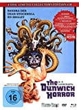DVD Cover 'The Dunwich Horror - 4-Disc Limited Collector's Edition Nr.18 (Blu-ray + DVD + 2 Audio CDs) -  Limitiertes Mediabook auf 333 Stück, Cover A