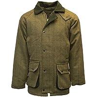 Chaqueta de tweed de Walker and Hawkes, para hombre, para caza, color salvia