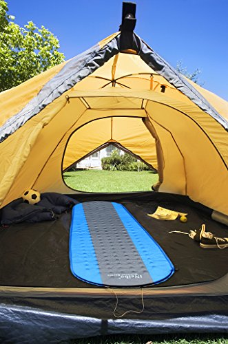51DG5C0 mdL - iNeibo Self Inflating Sleeping Mat Camping Mat Sleeping Pad Compact Lightweight Camp Mat Inflatable Roll Up Foam Bed Tent Pads for Winter Camping Mummy Sleeping Bag