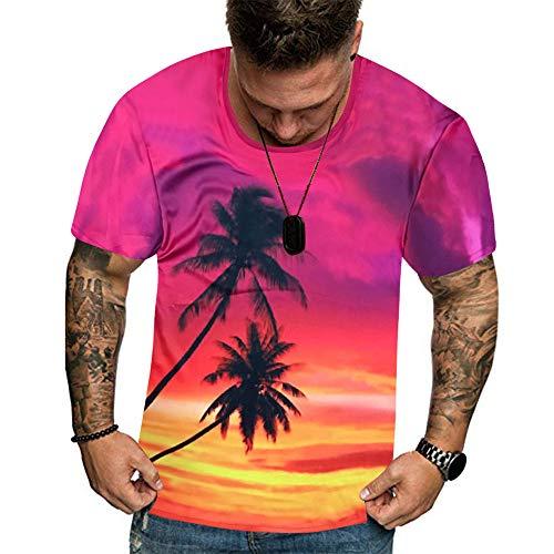 Beonzale Männer Sommer Neue volle 3D gedruckte T-Shirt Plus Größe M-3XL Cool Printing Top Bluse Trägershirt-T-Shirt Tops Für Herren Sweatshirt Camo Thermal Sweatshirt