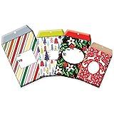 JILLSON Roberts vorgeladen verschiedene Größen Weihnachten Tyvek Gepolsterte Versand Mailer Protected Umschläge in Motive sortiert, Streifen und Florals