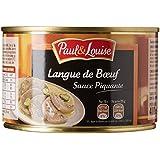 Paul & Louise Langue de Bœuf Sauce Piquante 410 g -