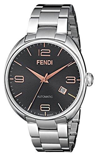 FENDI FENDIMATIC Herren-Armbanduhr 42MM Armband Edelstahl AUTOMATIK F201016200