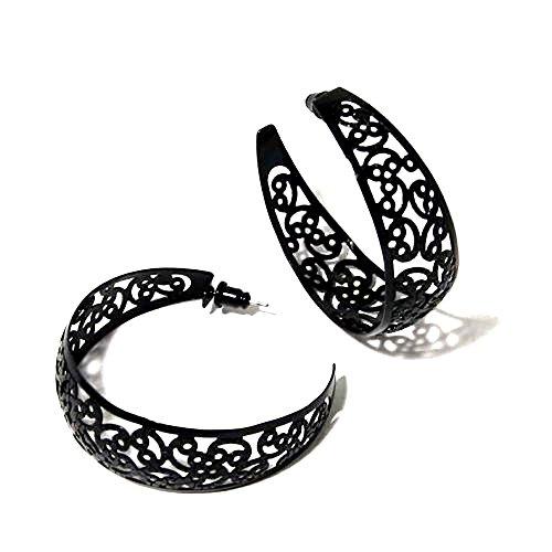 sg-paris-bijoux-fantaisie-boucle-doreilles-creole-femme-metal-peint-noir-jet