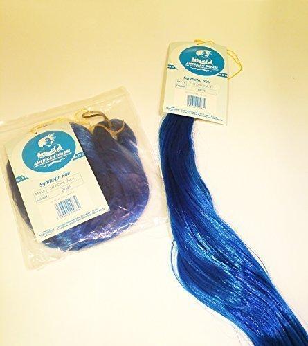 Cheveux Synthétiques pony-tail tressage (100% fibre coréen) Lot de 2en bleu