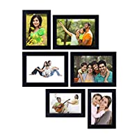 Adorn your interiors with this beautiful decor. Solimo Photo Frames are simple yet attractive in design