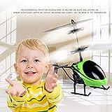 EisEyen Mini RC Infrarot Induktion Helikopter Hubschrauber Drohne mit Lichter Flugzeug Kindspielzeug