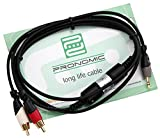 Pronomic ANE20-1.5JC Audio Noise Eliminator Kabel Klinke/Cinch