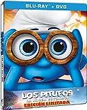 Los Pitufos: La Aldea Escondida (Edición Especial Metálica Combo) [Blu-ray]