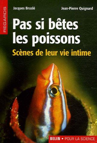 Pas si bêtes les poissons : Scènes de leur vie intime
