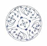 CUP+MUG Dessertteller Porzellan Indisch Blau 17cm