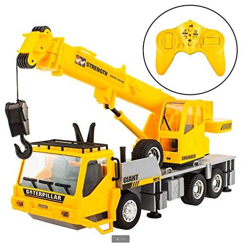 RC Crane Remote Control Traktor Batteriebetriebene Funksteuerung BAU Kran Geburtstagsgeschenk Geschenk Jahres