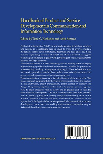 Handbook of Product and Service Development in Communication and Information Technology