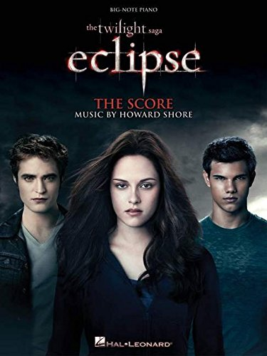 Twilight Eclipse Music From The Film Score Big Note Piano Book (Piano Noten Twilight)
