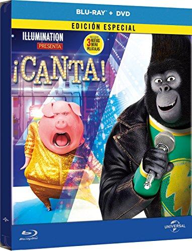 ¡Canta! (Edición Metálica) (BD + DVD) [Blu-ray] 51DGGXtICXL