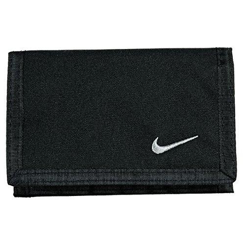 Nike Unisex NK002 Basic Wallet, Black, One Size