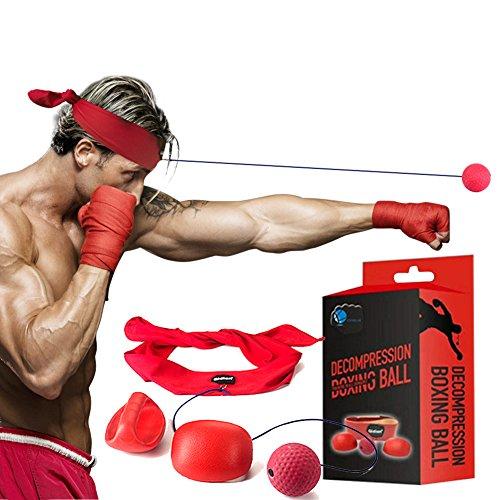 Cenblue Kampf Dekompression Vent Ball Reflex - Punch Trainer Übung für Gym, Boxen, MMA und andere...