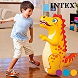 #5: Intex Inflatable PVC Hit Me 3D BOP Bags (Color May Vary)