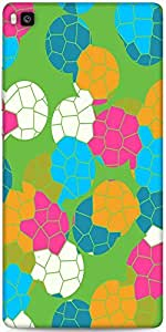 Snoogg Mosaic Tiles Colourful 2882 Designer Protective Back Case Cover For Hu...