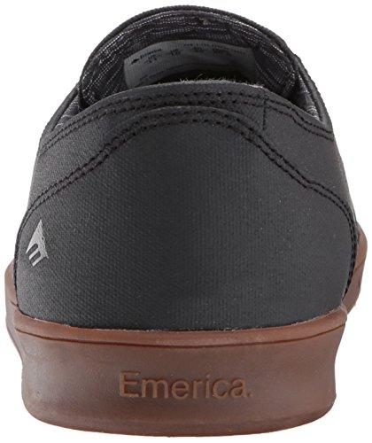 Emerica LACED BY LEO ROMERO 6102000082 Herren Sneaker Black/gum/dark Grey