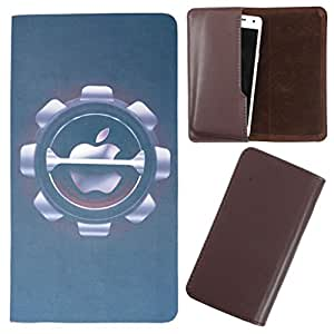 DooDa - For Lava Iris Pro 30 PU Leather Designer Fashionable Fancy Case Cover Pouch With Smooth Inner Velvet