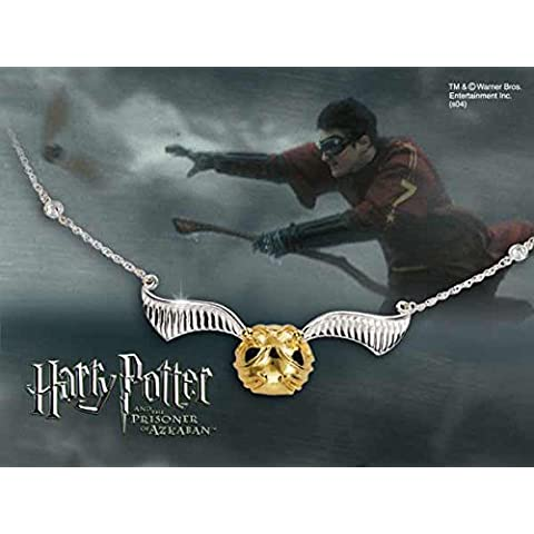 Harry Potter Collana The Quidditch Golden Snitch Noble Collection Pendenti Collane