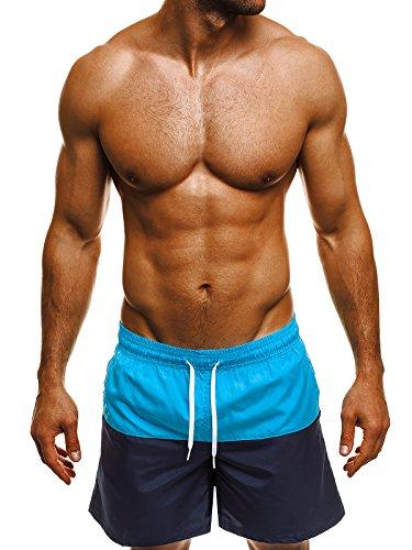 ozonee-herren-badeshorts-kurzhose-badehose-schwimmhose-schwimmshorts-shorts-camouflage-mhm-207-blau-
