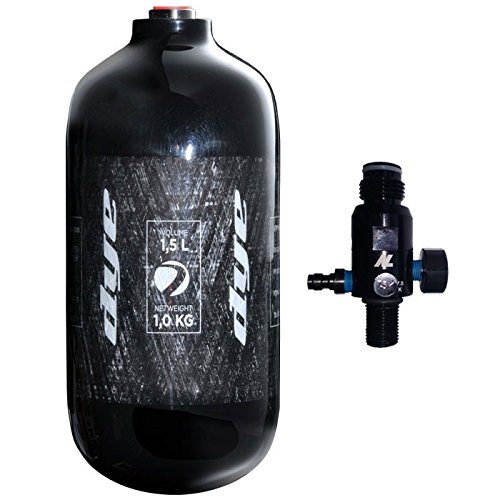 Dye Paintball HP System Core 1.5 Liter inkl. New Legion Dwarf Regulator 300 bar, 65494