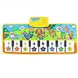 Gusspower Musical Musik Matte, Baby Frühe Erziehung Musik Klavier Keyboard Teppich Tier Decke Touch Spiel Sicherheit Lernen Singen lustig Spielzeug für die besten Kinder Baby Geschenk