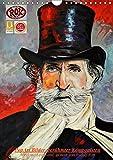 PopArt Bilder berühmter Komponisten (Wandkalender 2018 DIN A4 hoch): Acryl auf Leinwand, gemalt von Rudolf Rox (Monatskalender, 14 Seiten ) (CALVENDO Kunst)