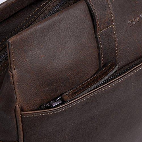 The Chesterfield Brand George Aktentasche Leder 40 cm Laptopfach brown