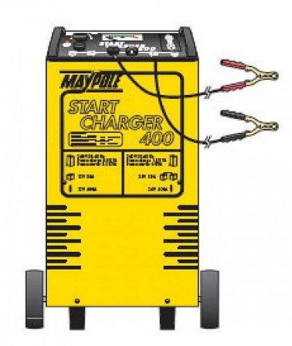 Maypole 12/24 V 75 Amp chargeur de batterie de démarrage/avec minuterie (Mp734)