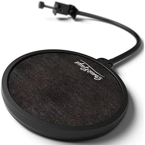 Filtro pop Blue Yeti de Auphonix Para los micrófonos Blue Yeti