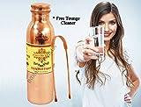 IndianartVilla Pure Copper Yoga Water Bo...