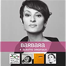 Barbara chante Barbara / Barbara / L'Aigle Noir / Amour incestueuses (Coffret 4 CD)