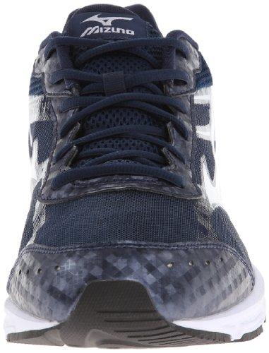 Mizuno Wave Unite 2 Synthétique Chaussure de Course Navy Blue-White
