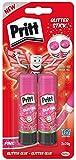 Pritt pPST2 rose bâtons de colle sur carte blister 2 pièces