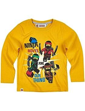 Lego Ninjago Kollektion 2017 Langarmshirt 98 104 110 116 122 128 134 140 Shirt Jungen Neu Top Gelb