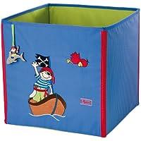 Preisvergleich für sigikid, Mädchen und Jungen, Aufbewahrungsbox mit Piraten-Motiv, Sammy Samoa, Blau, 23470